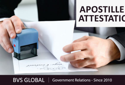 Document legalization and attestation